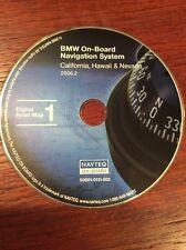 BMW NAVTEQ NAVIGATION DVD MAP DISC CALI, HAWAII, NEVADA 2006.2 S0001-0112-602