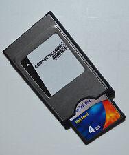 PCMCIA ADAPTADOR COMPACT FLASH Mapa 4GB para COMAND APS C197 W212 W204 W221