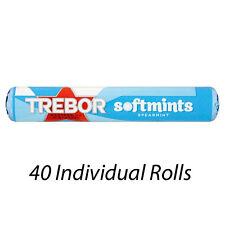 TREBOR Softmints alla menta mentine ROLLS 45g x 40 All'ingrosso Sconto 179485