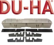 DU-HA 10043 Underseat Storage Gun Case 07-13 Chevy Silverado Crew Cab Light Gray