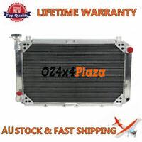 4Core Alum Radiator For Nissan Patrol GQ/Y60 2.8 4.2 Diesel TD42 3.0 Petrol OZ