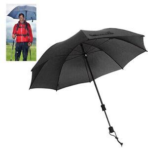 hive outdoor EuroShirm Göbel Regenschirm Swing handsfree handfrei schwarz