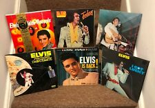 Lot of 6 Elvis Presley Vinyl Records LPs Elvis Is Back, Aloha From Hawaii, more