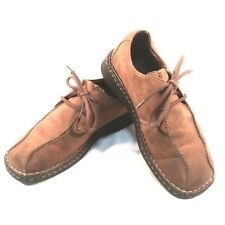 Thom McAn Raymond 2551148  Brown Suede Leather Lace-up Mens Shoes Size 8 1/2