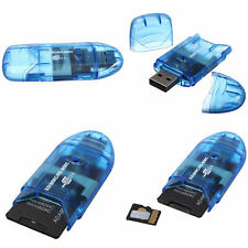 Mini USB2.0 Memory Muti-Card Reader Writer Adapter for MMC SD SDHC TF UP to 64CG