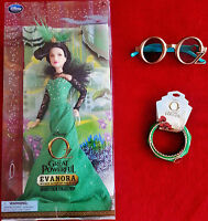 Disneys Oz the Great and Powerful Evanora Doll*R. Weisz* Oz 3D Glasses*Bracelets