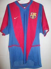 Barcelona 2002-2003 Home R Owen 9 en la parte trasera una camiseta de fútbol Talla / 35158