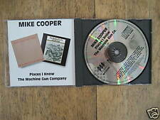 Mike Cooper / Places I Know +The Machine Gun Company CD