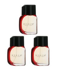 Realm by Realm for Men Combo Pack: EDT Cologne Spray 3 oz. (3 x1 oz. Bottles)