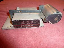 PORTER  CABLE 362  363  WHISPER SERIES IDLER  PULLEY TRACKING BOX ASSEMBLY USED