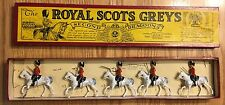 Vintage Britains The Royal Scots Greys Set with Original Box (No. 32)