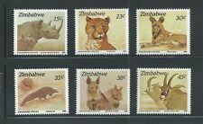 Zimbabwe Scott # 594-599 MNH Endangered Species