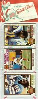 1979 Topps Football Holiday Christmas Rack Pack HOF Newsome Shell Campbell RC?A1