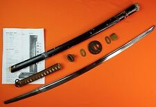 Japan Japanese WW2 WWII Signed KATANA Sword SHOSHINSHI FUKUMOTO KANEMUNE