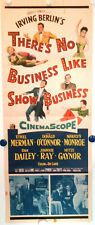 MARILYN & E. MERMAN • THERE'S NO BUSINESS LIKE SHOW BUSINESS 1954 • Insert • VG