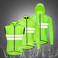 Men's Windproof Cycling Jacket Wind Coat Jersey MTB Bike Riding Sports Hoodie