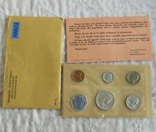 More details for usa 1961 5 coin proof set with silver - sealed/coa