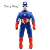 Avengers Captain America Plush Toy Soft Stuffed Doll 45CM Teddy Figure Xmas Gift