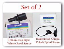 Set 2 Trans Output-Input Vehicle Speed Sensor For Golf City GTI Jetta & Beetle