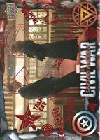 2016 Upper Deck Marvel Captain America Civil War Red Foil Parallel Card #32 /100