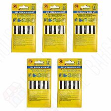 5 PACKS BD SHANK WOOD JIGSAW BLADES FOR BLACK DECKER RYOBI MAKITA DEWALT STANLEY