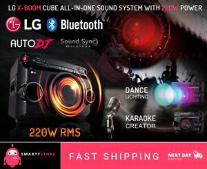 220W RMS LG XBOOM Bluetooth Light Up Party Speaker Karaoke Creator Auto DJ