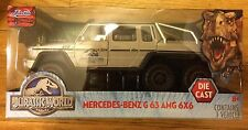 Jurassic World Movie Diecast Mercedes Benz G 63 AMG 6x6 1:24 Scale Large Truck