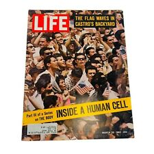 Life Magazine March 29, 1963: JFK in Coast Rica Human Cell Ginger Rogers 60s Ads
