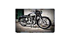 1959 norton international Bike Motorcycle A4 Photo Poster