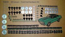 Front End Sheet Metal Hardware 182pc Kit 69 Camaro   *In Stock *