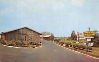 Hightstown New Jersey 1969 Postcard Town House Motel & Restaurant