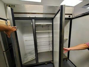 True 3 Door Commercial Freezer