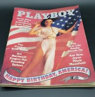 Vintage Playboy Magazine JULY 1976 - Complete with Centerfold