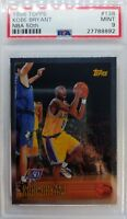 1996 96 TOPPS NBA 50TH FOIL ROOKIE Kobe Bryant #138, PSA 9 LOWER POP THAN CHROME