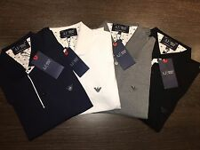 AJ ARMANI JEANS POLO Men's Short Sleeve . T-Shirt . S-M-L-XL-XXL . 4 COLOURS