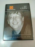 Bill Gates Grandes Biografias History Channel - DVD Español Ingles Nueva - AM