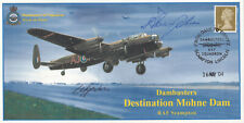 (28708) GB Cover Dambusters SIGNED Flt Lt Harry Humphries 2004 No. 1 of 1