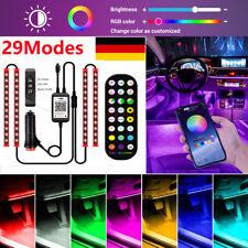 LED RGB Auto Ambientebeleuchtung Innenraumbeleuchtung Lichtleiste App Control DE