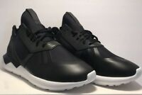 Adidas Mens Size 7 Tubular Bungee Black Athletic Running Sneakers Shoes New