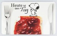 """PEANUTS Frühstücksbrettchen SNOOPY """"Heute ist dein Tag"""", 14,3x23,2cm, Resopal"""