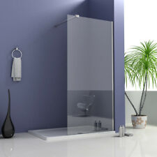 Walk in Shower Enclosure Wet Room Tall Cubicle 8mm EasyClean Glass Screen Panel 1400x1950mm