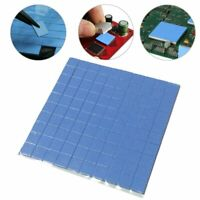 100pcs 10mm*10mm*1mm Heat Pad GPU CPU Heatsink Cooling Conductive Silicone Pad