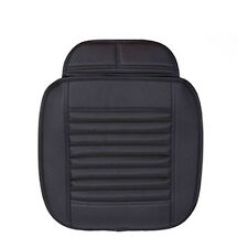 Top Quality Black Breathable Bamboo Charcoal Car Seat Cushion Cover For Sale