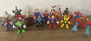 Imagine Next Miscellaneous Figurines DC / Marvel Batman Robin Thorn Lot of 17
