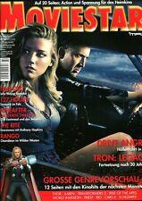 MOVIESTAR: 02/201 Febr/März  (Heft 12) Cover: Drive Angry, Tron:Legacy, 127 Hour