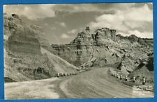 The Sentry Of Bigfoot Pass, Badlands, South Dakota, Rise Studio #718 - Rppc 1955