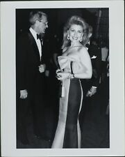 Georsette Mosbacher, Robert ORIGINAL PHOTO HOLLYWOOD Candid 7655