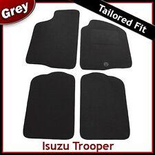 Isuzu Trooper 1992 1993 1994 1995...2003 Tailored Fitted Carpet Car Mats GREY