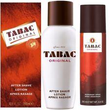 Tabac Aftershave Lotion 150 / 300 ml Deodorant Spray 200 ml for Men Mäurer&Wirtz
