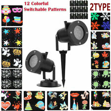 Christmas LED Projection Lamp Light Projector Pattern Party Lights Decoration Ba